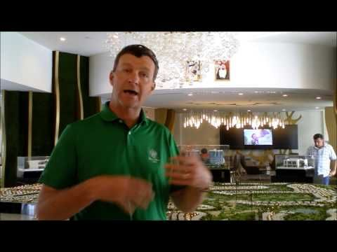 Gil Hanse Golf Architect talking about the Rio Olympic Golf Course at the Trump International Golf Club Dubai #TRUMP #GOLF #DUBAI