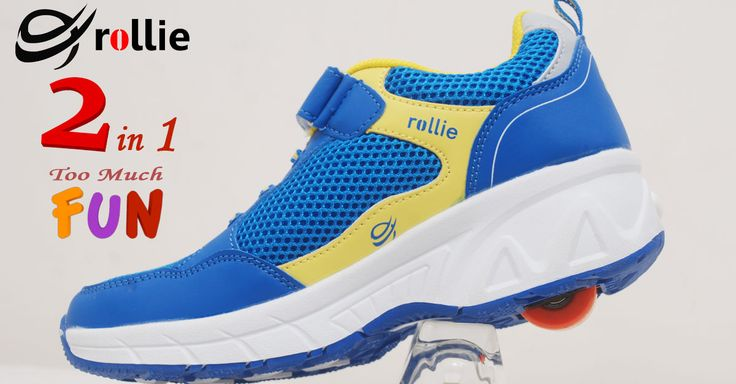 Smartly designed, this colored roller sports shoes from the exclusive collection of Rollie will certainly make your little one look super trendy.  Exclusively available on Rollieindia.com