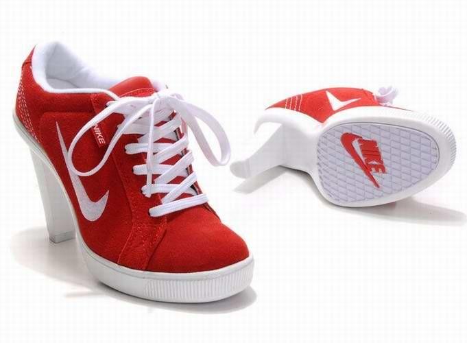 2012 Nike Dunk SB High Heels Red White
