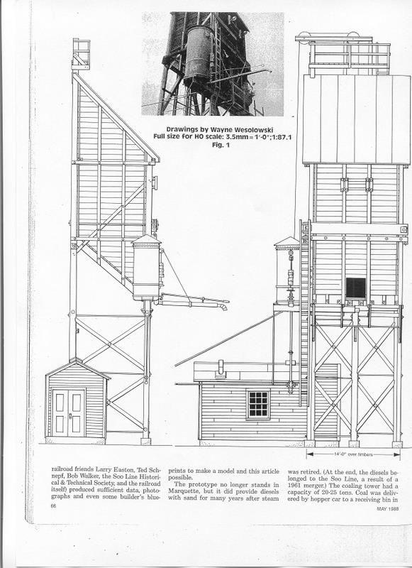 Railroad Line Forums - Coal tower plans