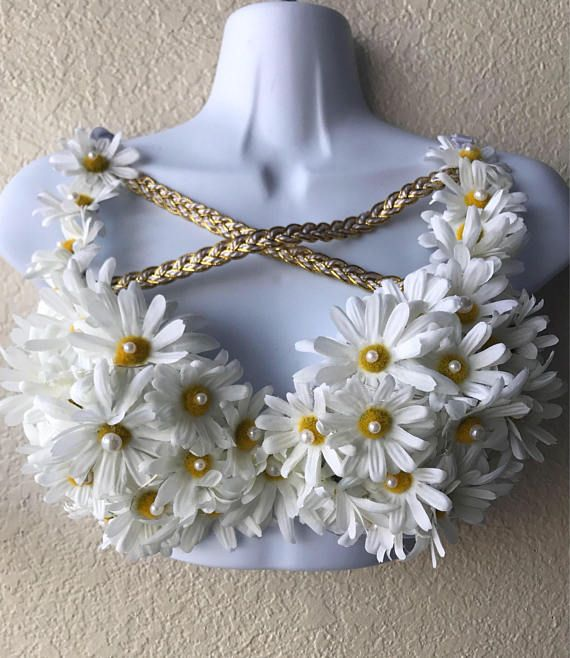 Daisy Goddess bra is perfect for any costume, festival, or rave, or any event! THIS IS A MADE TO ORDER ITEM THAT CAN BE CUSTOMIZED TO ANY SIZE. Any questions regarding size or colors, feel free to contact me. All bras are made to custom order. May take 2-4 weeks to to create, not including shipping time. If needed by a required date, feel free to message me. FOR ANY FURTHER INQUIRIES OR CUSTOM ORDER REQUESTS, MESSAGE ME! I will try my very best to ensure your outfit is stunning and…