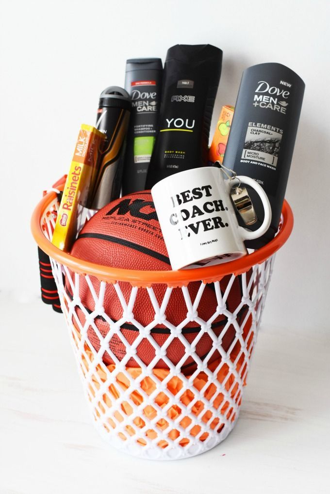 Diy Basketball Themed Gifts
