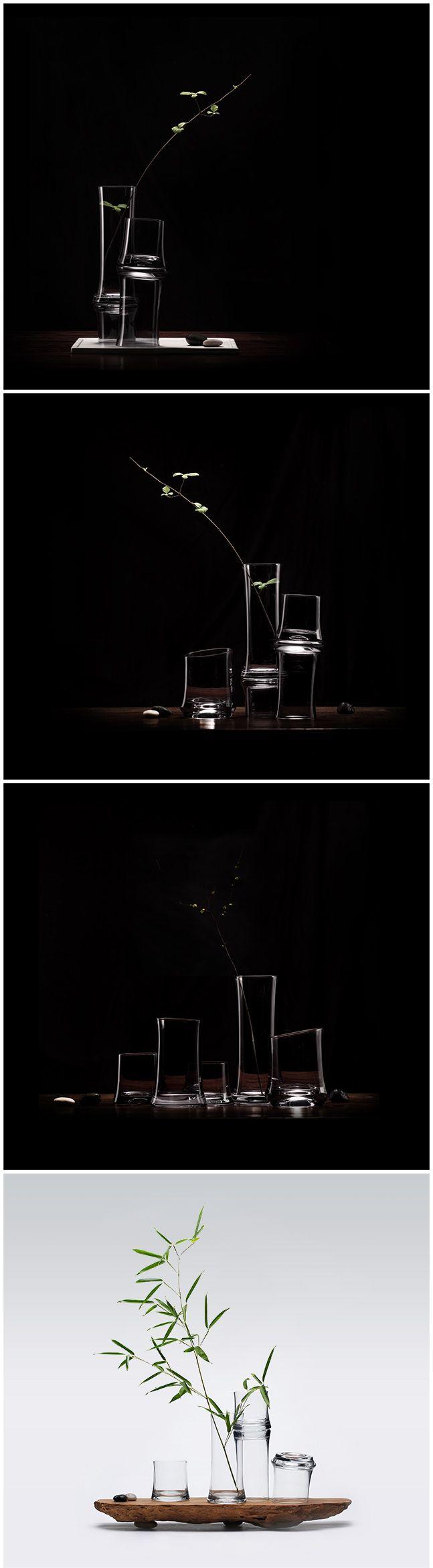 『此间有竹』禅意玻璃器组- 京东众筹