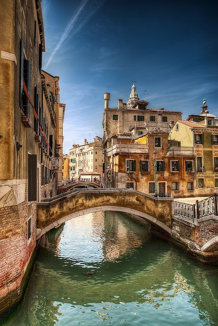 Venice, Italy (the gods came here to die, of that I am certain; Venice has a magic all its own that's indescribable)