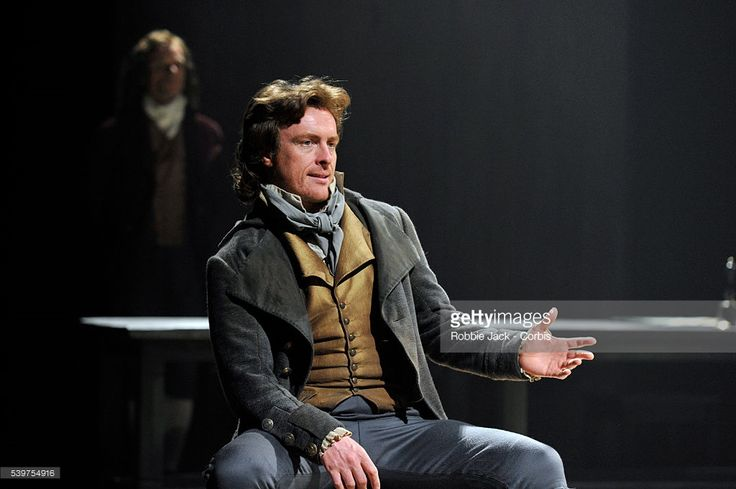 Toby Stephens as Georges Danton in the National Theatre's production of Georg Buchner's 'Dantons Death' directed by Michael Grandage at the National Theatre in London.