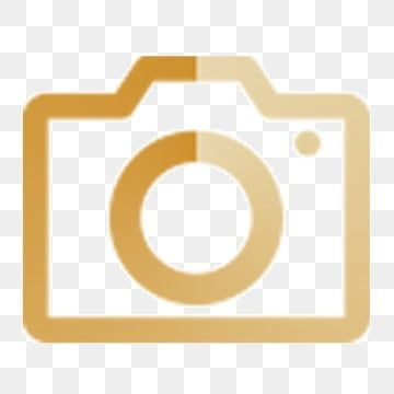 Caricatura Camara De Icono Dorado Icono Degradado Fotografia Oro Conjunto De Iconos Lineales Icono Icono De Estil Logo De Instagram Icono De Facebook Iconos