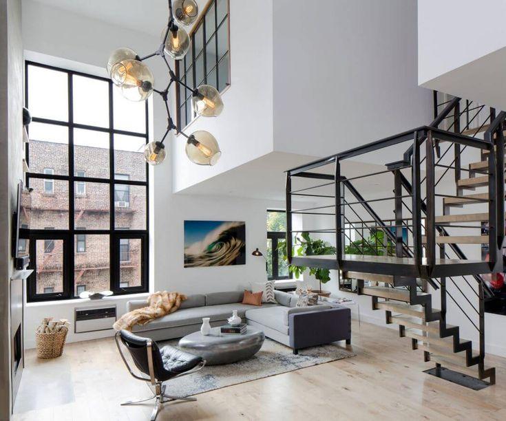 Soho Duplex Apartment in New York by Décor Aid