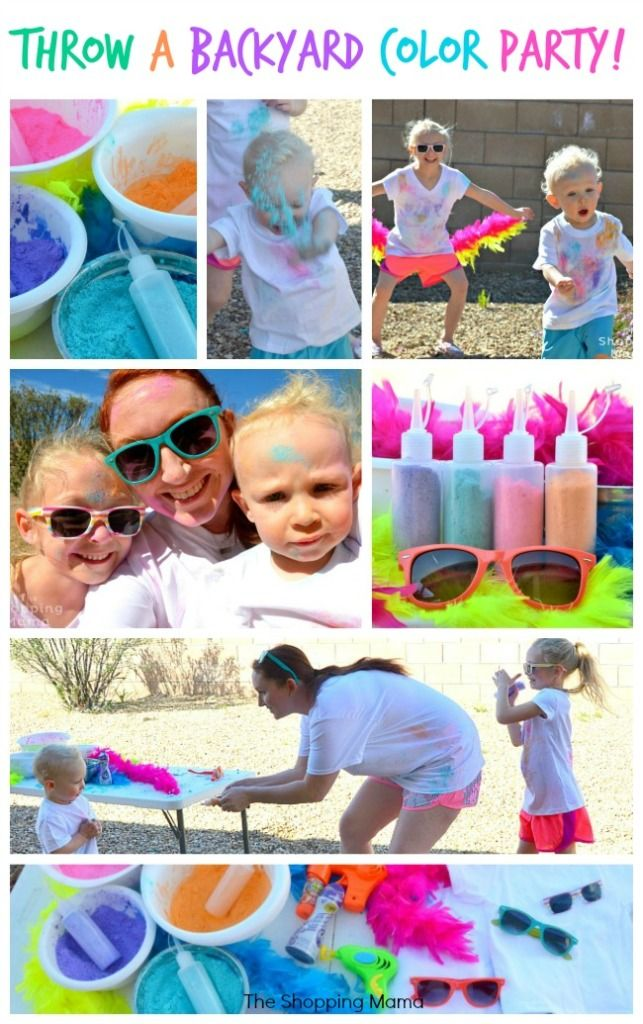 Celebrate with Kids Around The World: Holi, Festival of Color (Throw A Color Party!) | The Shopping Mama