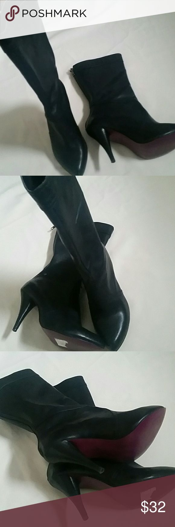 Selling this Bullboxer womens mid calf boots with 3 in heel on Poshmark! My username is: barbofashion. #shopmycloset #poshmark #fashion #shopping #style #forsale #Bullboxer  #Shoes