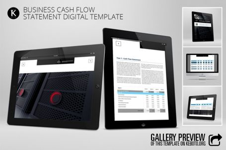 Business Cash Flow #Statement - http://luvly.co/items/5263/Business-Cash-Flow-Statement