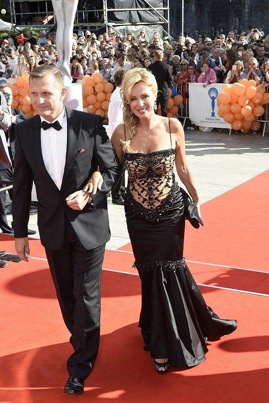 Kateřina Brožová s Jaromírem Soukupem