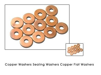 Copper Washers Sealing Washers Copper Flat Washers #CopperWashers  #SealingWashers  #CopperFlatWashers  We are manufacturers of all types of COPPER  WASHERS from India and have installed capacity of 120 tons per month. We offer various Copper pressed Washers Copper flat washers Copper punched washers plain washers to various standards for sealing and engine kits. We also Offer Copper gaskets sealing gaskets and pressed washers from sheet metal.