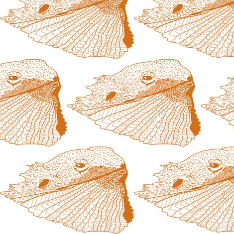 Just a Tad of Bearded Dragon-Desert King-Sandy desert colourway fabric by stellarevolutiondesigns on Spoonflower - custom fabric. Just a Tad of Bearded Dragon-Desert King fabric by stellarevolutiondesigns on Spoonflower - custom fabric. If you love bearded dragons, then this fabric pattern is made for you! (Also works if you super believe in Tad Cooper as your spirit animal!)