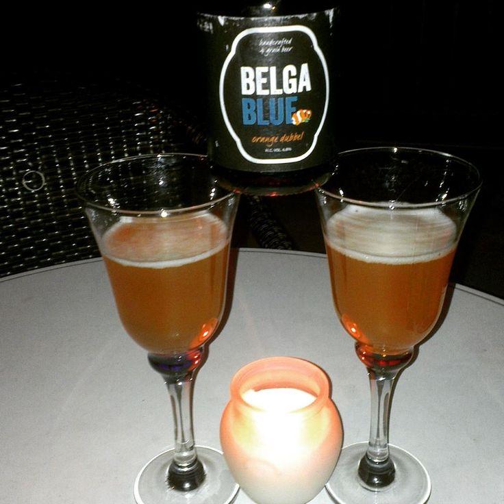 Belga blue Orange Dubbel - Belgian beer with a touch of Mediterranean. #beeroclock #Belgianbeer #Belgium #craftbeer