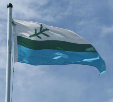 Labrador flag...my heart, my home