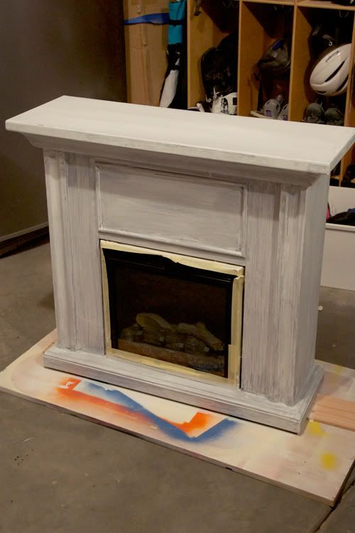 Electric fireplace before and after  Creative Furniture  Electric fireplace Diy fireplace