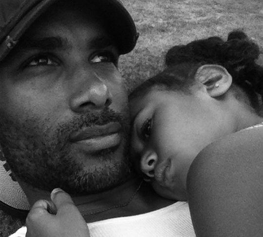 Boris Kodjoe & daughter