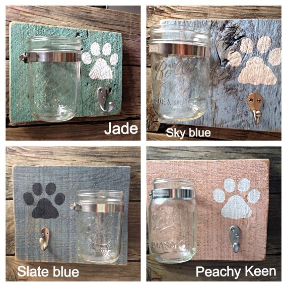 PAWesome Leash and Treat Holder by theDogPawCo on Etsy