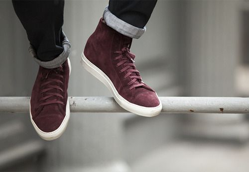 #sneakers #burdeos