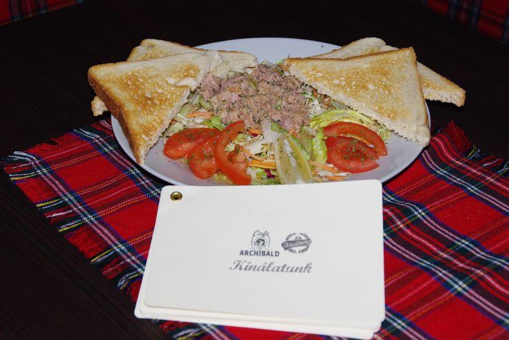 Café Archibald -reggeli kínálat
