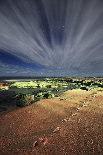 ✯ Night Beach - Caloundra, Queensland, Australia