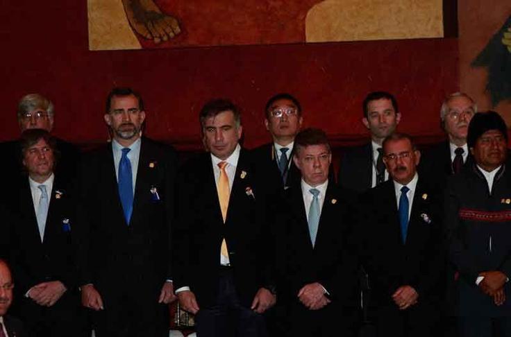 Mandatarios en la Asamblea Nacional.