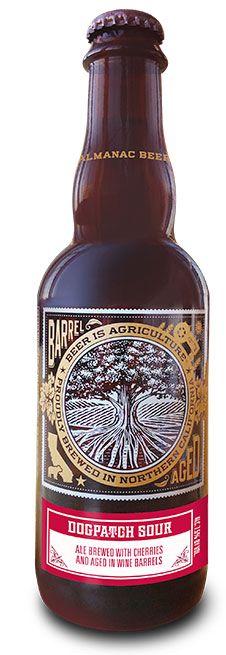 Dogpatch Sour - Barrel Ale aged in wine barrels - Almanac Brewing Co.
