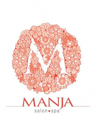 Manja Salon Logo by hamansahdin othman - Advanced Photoshop