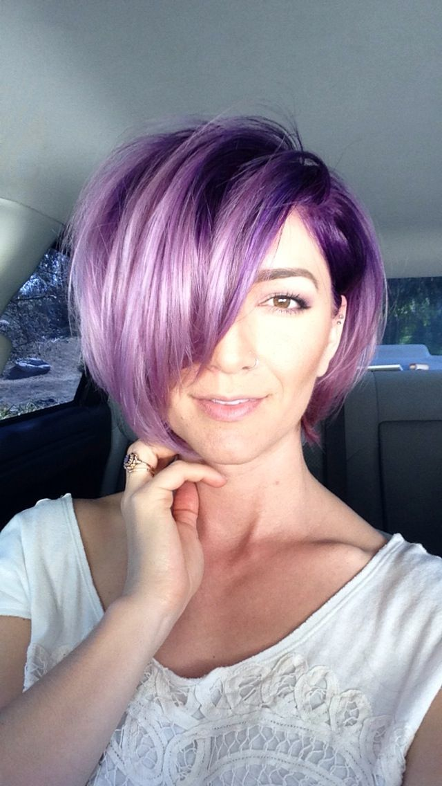 Purple hair awesomeness