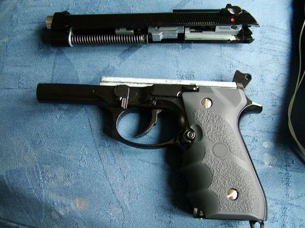 Pistol field 380 strip llama