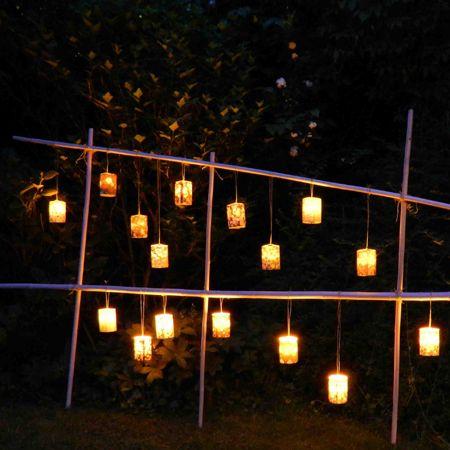 Paravent lumineux pour jardin et maison