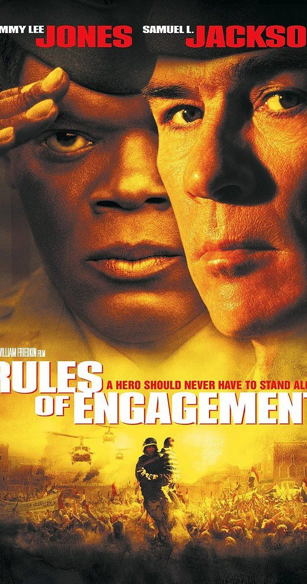Directed by William Friedkin.  With Tommy Lee Jones, Samuel L. Jackson, Guy Pearce, Ben Kingsley. An attorney defends an officer on trial for ordering his troops to fire on civilians after they stormed a U.S. embassy in a third world country.