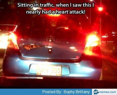 Funny car prank