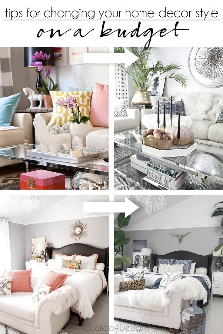 Changing Your Home Decor Style On A