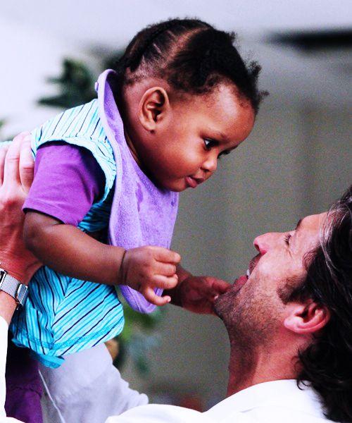 Derek & Zola. Grey's Anatomy