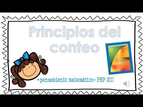 Principios del conteo PEP 2011