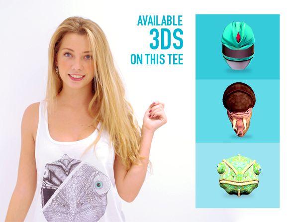 IMASCONO #augmentedreality experience. #Fashion collection: Be a hero. 3D Experience: Chamaleon