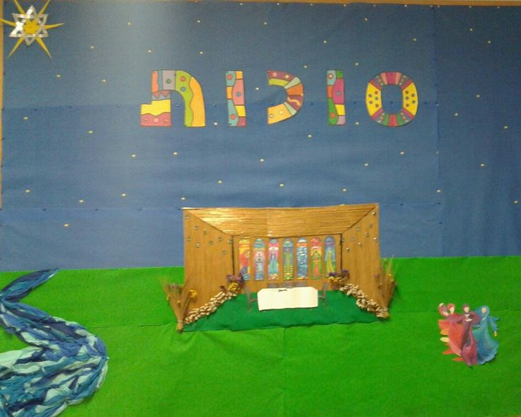 Sukkot design on the wall