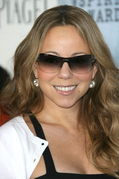 Mariah Careys long hairstyle