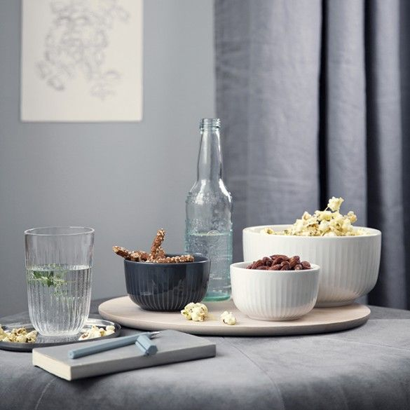 The classic, spacious grey Kähler bowl in the Hammershøi range comes in an impressive 3 sizes.