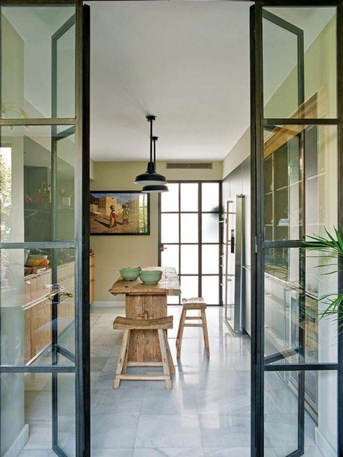stunning offene k che wohnzimmer abtrennen ideas home. Black Bedroom Furniture Sets. Home Design Ideas