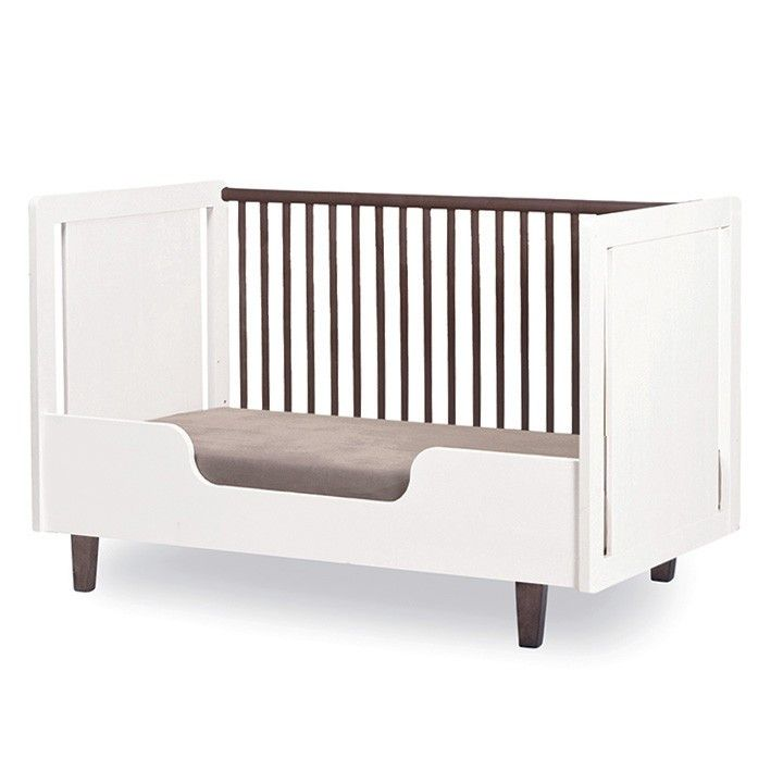 Rhea Crib Toddler Bed Conversion Kit - White by Oeuf