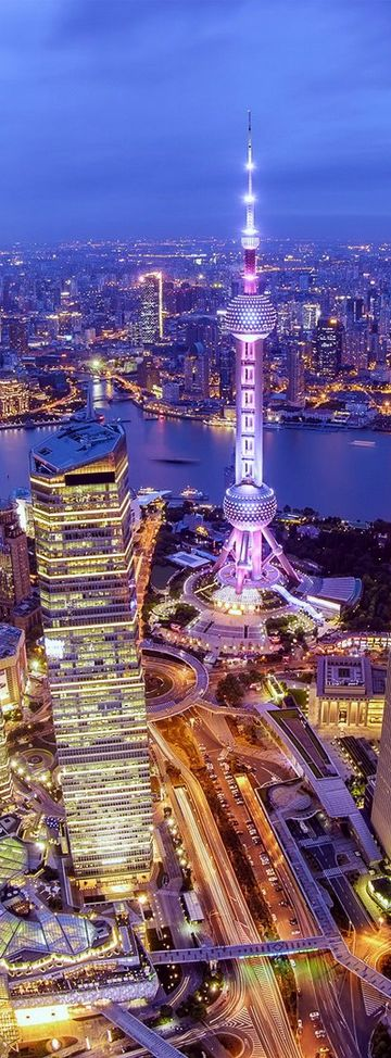 Nuestro destino favorito ahora...#China te espera! Frivolous Fabulous - Shanghai China Frivolous Fabulous Above The City. http://orientartoccide