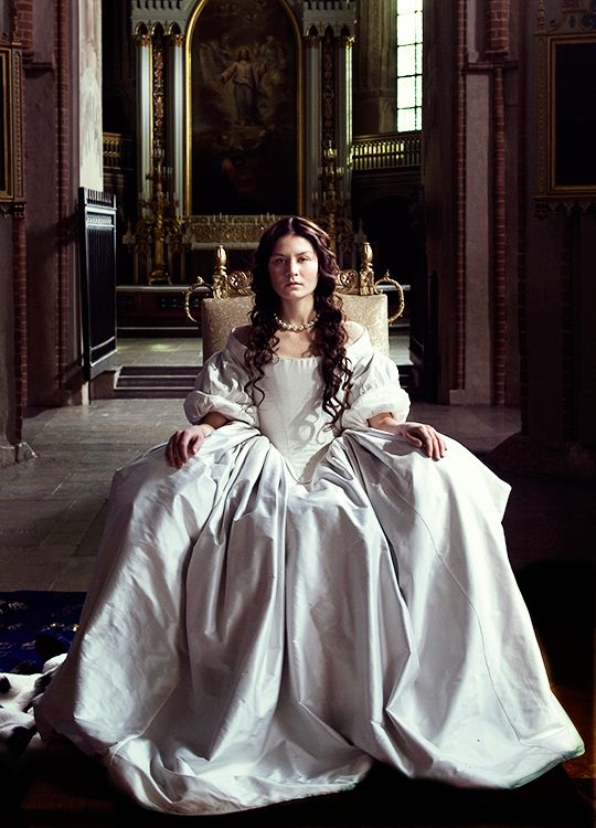 "Malin Buska as Queen Christina of Sweden in ""The Girl King"" (2015)"