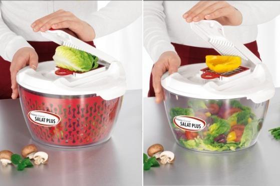 Gå sommeren i møde med sunde salater. SPAR 57% på den smarte Salat Plus, som er en topprofessionelt salatslynge af høj kvalitet! Den vil med garanti gøre din madlavning meget nemmere, og du slipper for ømme arme, når du skal lave lækre salater. Kun 278,- inkl. levering!  Kan købes her: http://dealhunter.dk/produkt/faa-den-smarte-og-effektive-salat-plus-for-kun-278-inkl-levering.html