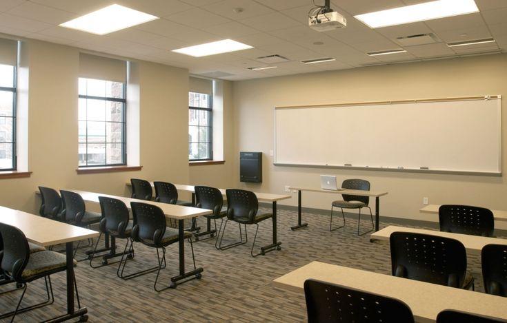 Classroom Design Companies ~ Fontbonne university anheuser busch hall classroom