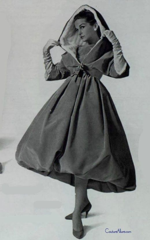 Weekend Eye Candy by Hubert Givenchy, 1958