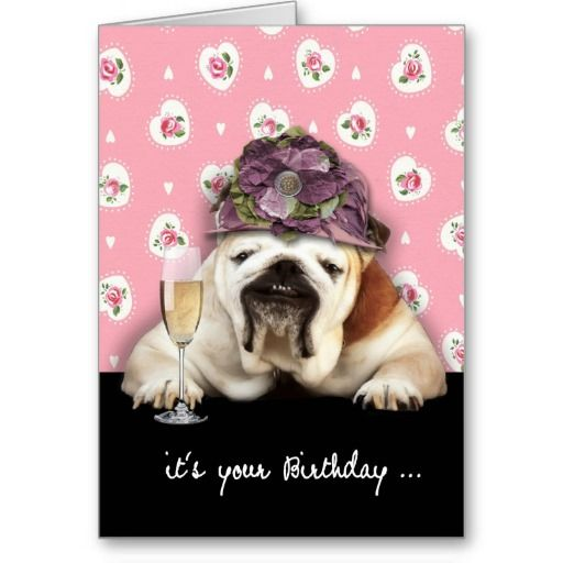 Happy Birthday, Getting Older, Humor, Dog With Hat