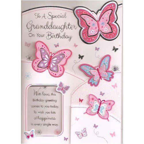 16 best images about Granddaughter Birthday cards – Corporate Birthday Cards Uk