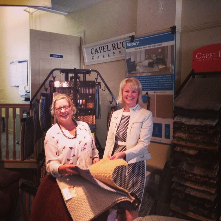 A GREAT visit with Mary Clara Capel of Capel Rugs.  We are thrilled to be a resource for this great brand.
